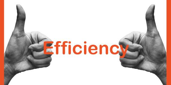 Efficiency concept photo
